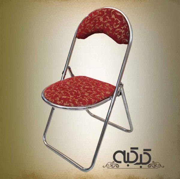 اجاره صندلی - صندلی تاشو زرشکی