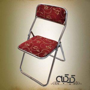اجاره صندلی تاشو زرشکی - اجاره میز و صندلی کرایه