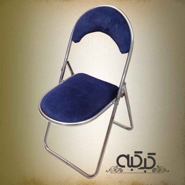 اجاره صندلی تاشو سرمه ای - اجاره میز و صندلی
