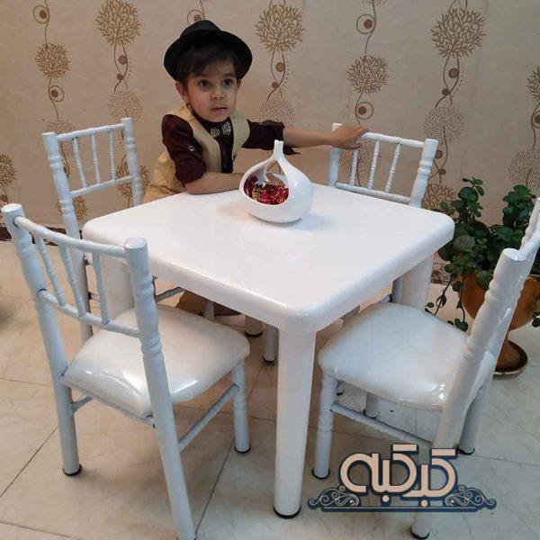 اجاره میز کودک - کرایه میز سفید کودک - اجاره میز بچه گانه