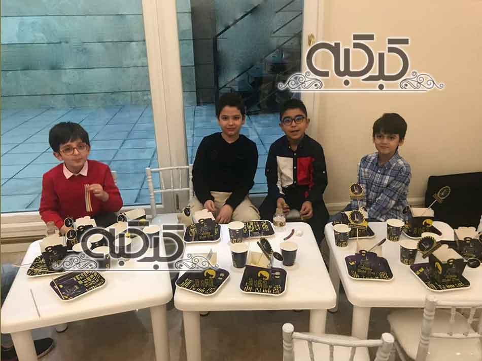 اجاره میز و صندلی کودک - کرایه لوازم تولد کودکان - اجاره وسایل تولد کودک