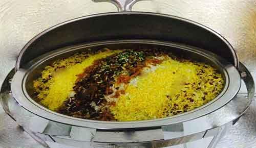 کرایه شف اندیش برای پلو - برنج
