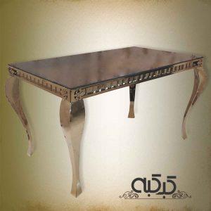 اجاره میز کوئین طلایی
